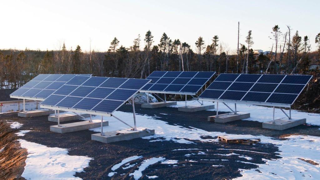 Sun Air Energy Solutions solar installation on a home